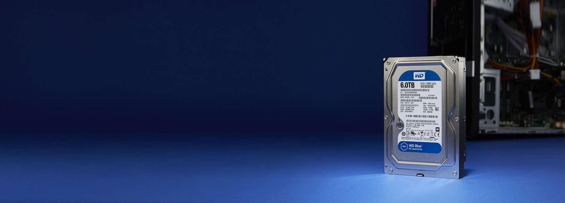 Western Digital HDD Blue 4TB هارد دیسک وسترن دیجیتال