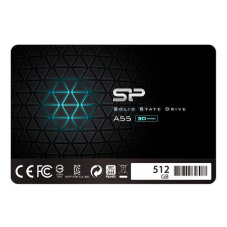 silicon power ssd a55 512gb ssdbazar 3 450x450 - اس اس دی سیلیکون پاور Silicon Power SSD A55 512GB