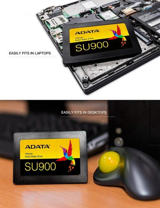 اس اس دی ای دیتا ADATA مدل SU900 ظرفیت 512 گیگابایت