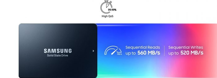SAMSUNG SSD SM883 DCT 960GB اس اس دی سامسونگ