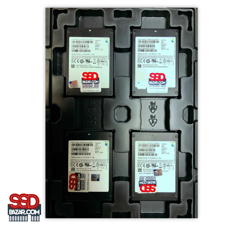SAMSUNG SSD PM1643 3.8TB MZILT3T8HALS-00007SAS-SSDbazar-