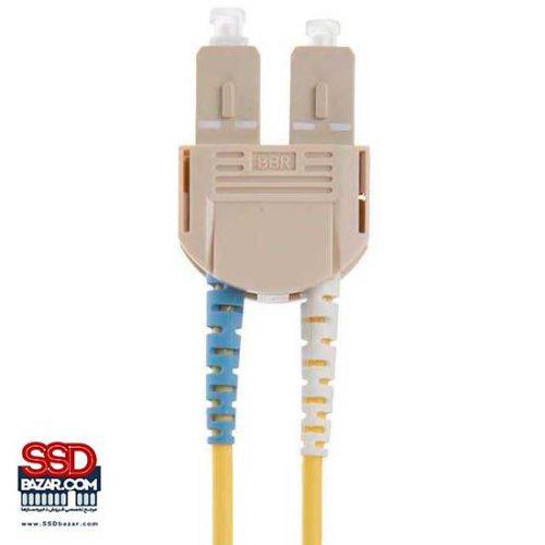 پچ کورد فیبر نوری داپلکس SC به SC برند-رکس مدل HOPSC050030SC201 طول 3 متر