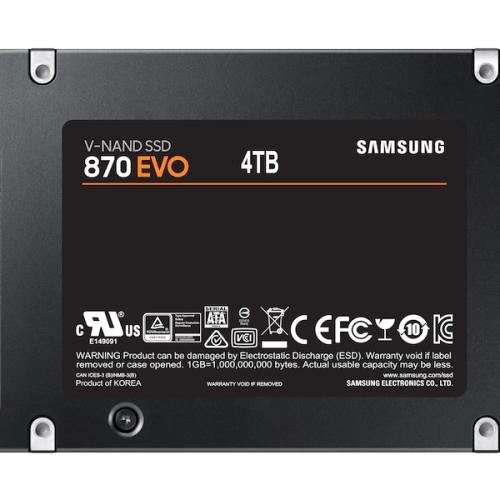 SAMSUNG EVO 870 4TB SATA 2.5-SSDBAZAR.COM
