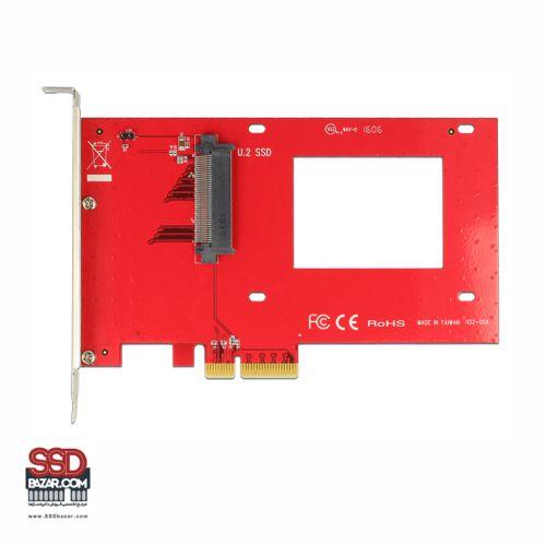 Delock U.2 to PCIe Adapter 89469 تبدیل u.2 به pcie ssdbazar 3-min