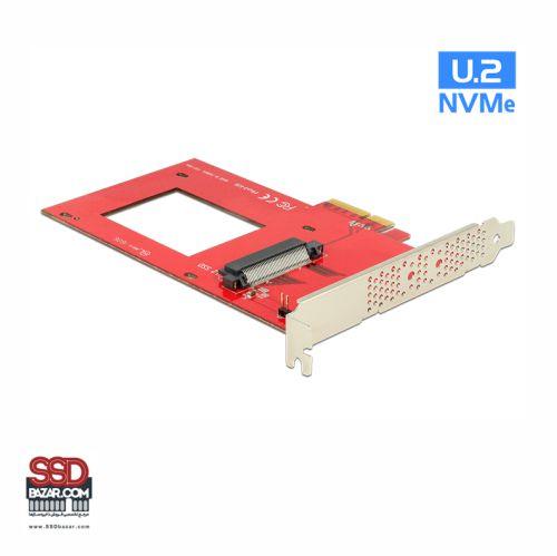 Delock U.2 to PCIe Adapter 89469-ssdbazar تبدیل u.2 به PCIe