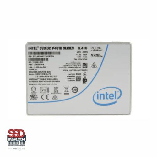 INTEL NVME U2 DC-P4610 6.4TB SSDPE2KE064T801 اس اس دی اینتل