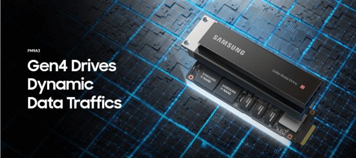 SAMSUNG SSD PM9A3 3.84TB MZ1L23T8HBLA-00A07 اس اس دی سامسونگ-ssdbazar